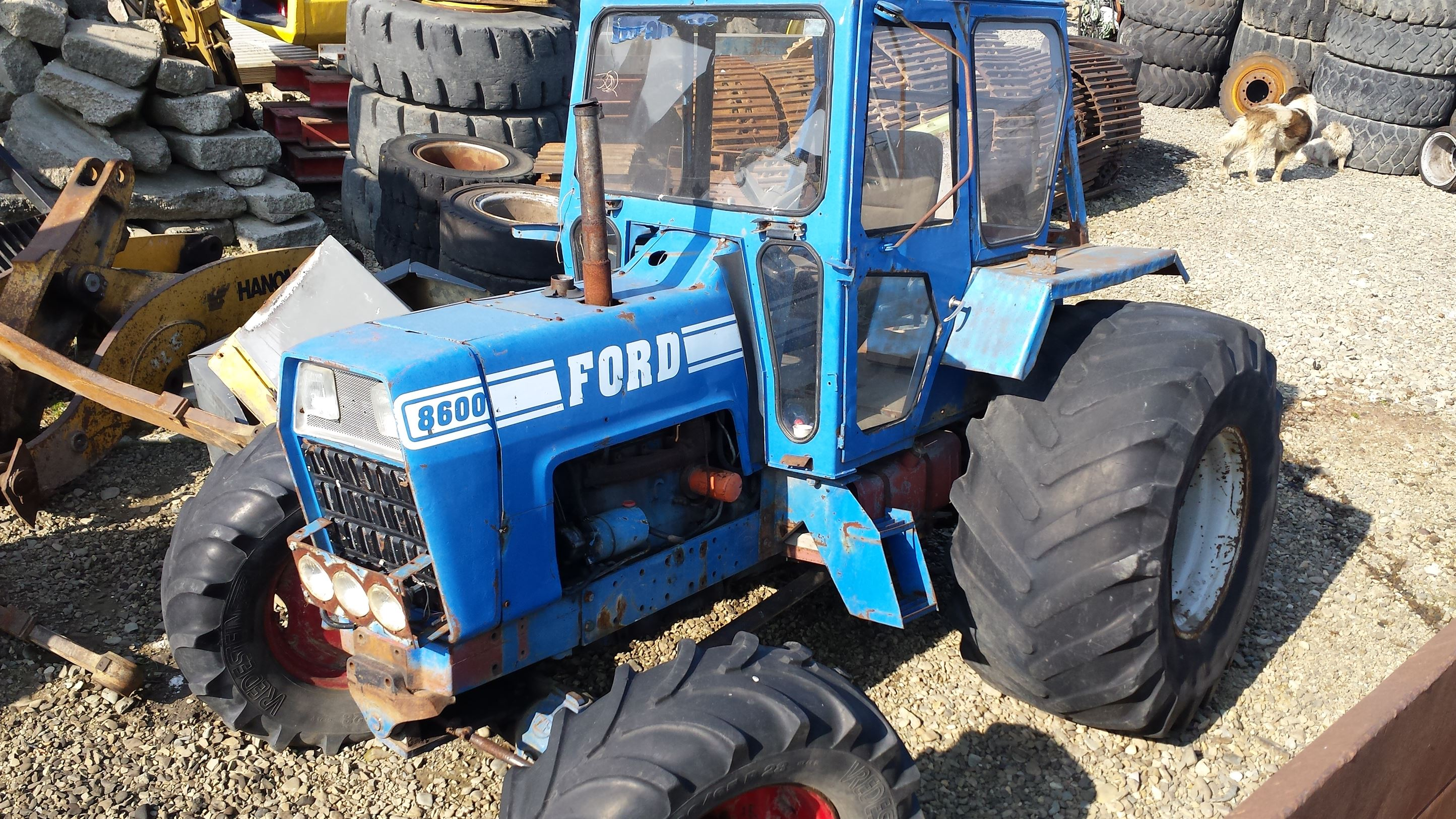 Ford Tractor Engine : Ford tractor engine
